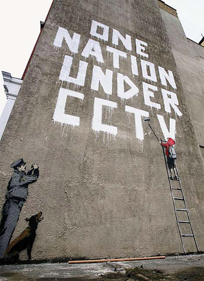 Banksy - One Nation Under CCTV