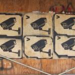 Join the Surveillance – stencil art on La Brea Ave (Los Angeles)