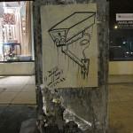 Join the Surveillance - stencil art on La Brea Ave (Los Angeles)