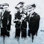 Zabou - Surveillance graffiti