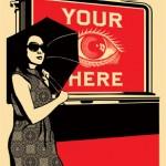 Shepard Fairey - Billboard Eye